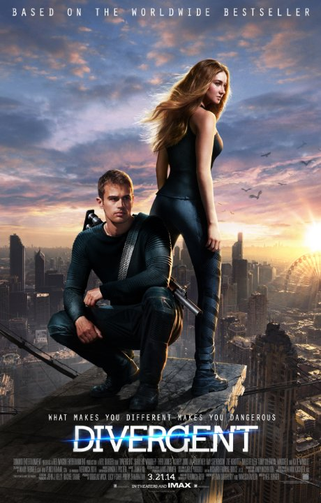 divergent poster We Get a Sneak Peek at Divergent with Neil Burger