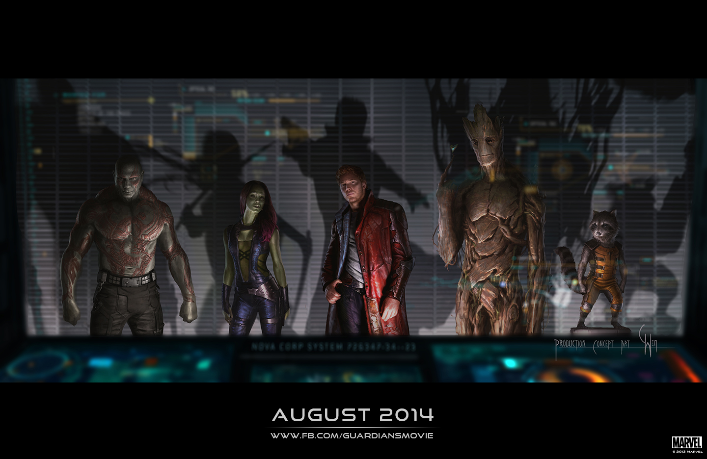 guardians of the galaxy concept art final The Geek Beat: Why 2014 Will Be a Risky Year for Geeky Movies
