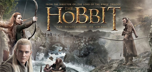 hobbit desolation title Film Face off: The Lord of the Rings: The Two Towers vs. The Hobbit: The Desolation of Smaug