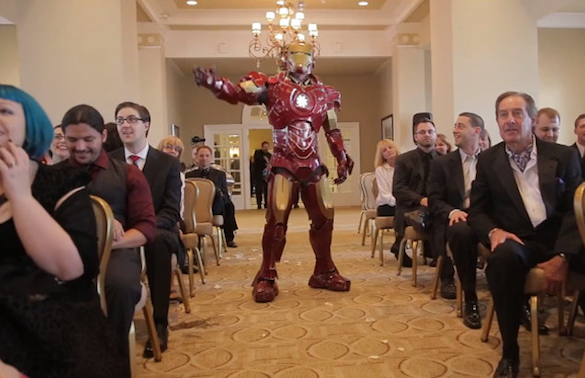 Your Favorite Thing Today: Potential Groom Fights Ninjas, Batman, Iron Man and More Before Gett...