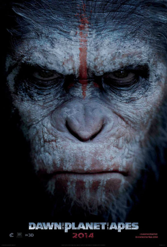 Movie News: Angry 'Apes' Poster; Bullock and Clooney Reteaming; Nicolas Cage Seeks Revenge in '...