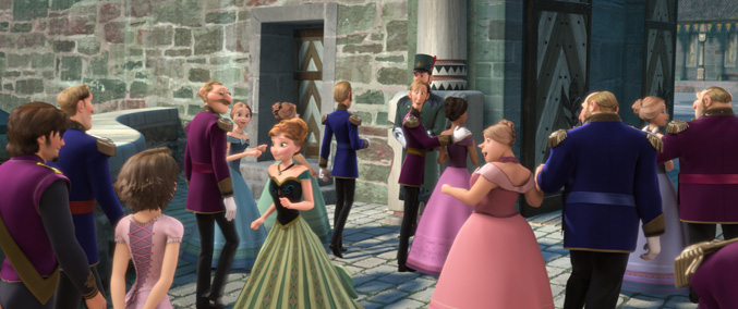 Did You Know Rapunzel From 'Tangled' is Hidden in 'Frozen'?...