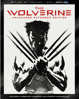 wolverine 3d bd New on DVD/Blu ray: The Wolverine Slices Home with a Superior Unrated Edition