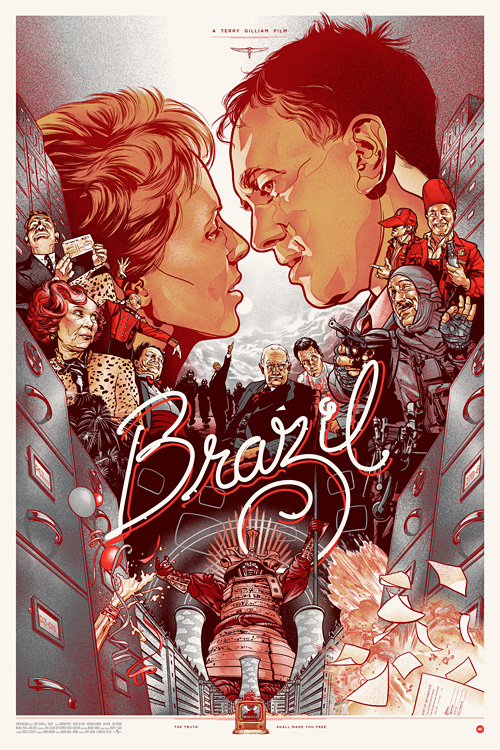 Brazil%20by%20Martin%20Ansin%20(Mondo) The Last Sci fi Blog: Why Brazil Is Just As Awe Inspiring Today As It Was 30 Years Ago