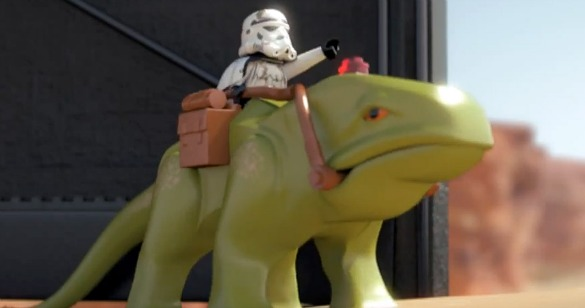 New Dewback 2014 Your Favorite Thing Today: This LEGO Star Wars Microfighters Ad Is So Friggin Adorable