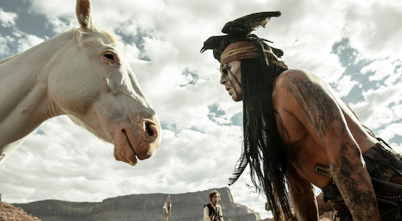 The Lone Ranger Tonto and Horse What Movie Did You Feel the Need to See Even Though It Got Terrible Reviews?