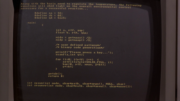 code1 Finally, Someone Deciphers All the Confusing Computer Code Featured in Movies