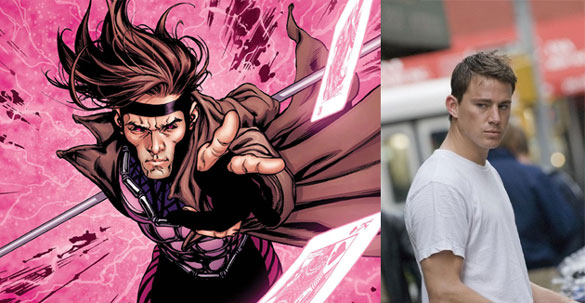 gambit channing tatum X Men Franchise Producer Wants Channing Tatum to Play Gambit in His Own Movie