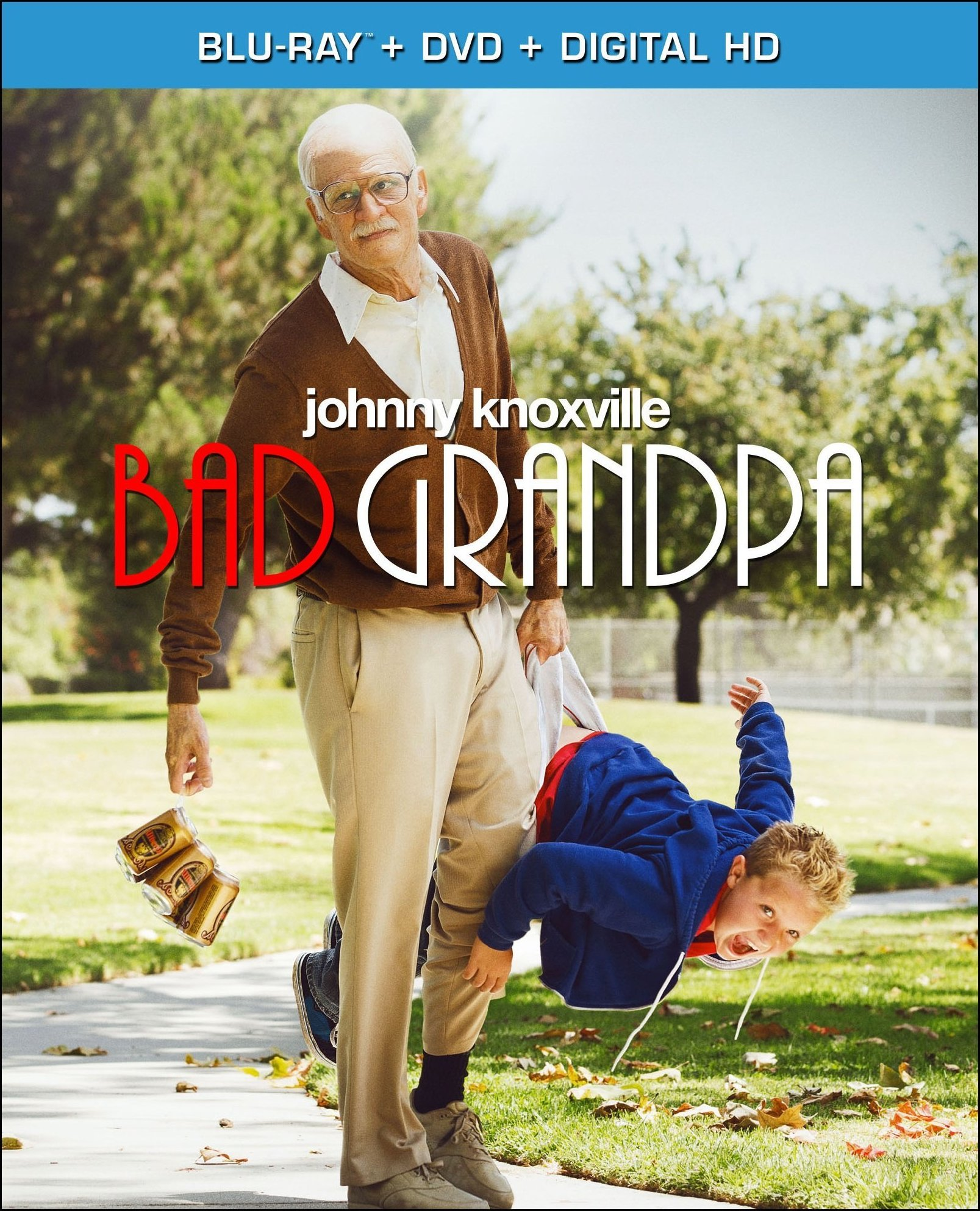 jackass bad grandpa cover Giveaway: Jackass Presents: Bad Grandpa on Blu ray Combo Pack