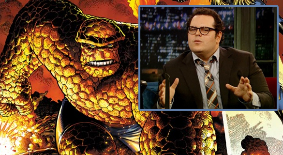 joshgad header Casting Rumor: Could Josh Gad Be Fantastic Fours Thing?