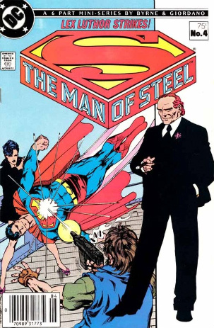 1986manofsteelno4 Comics on Film: The Legacy of Lex Luthor and Why Jesse Eisenberg May Be a Perfect Fit for the Iconic Villain