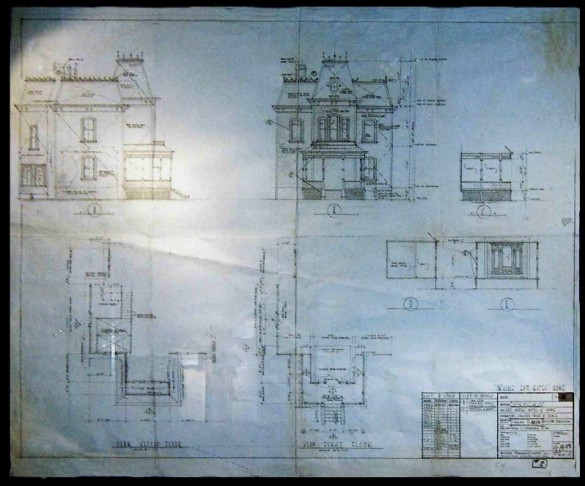Bates House Blueprints