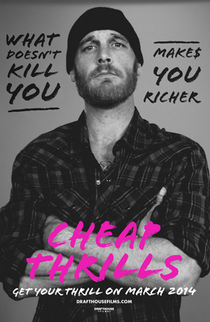 Cheap Thrills Character Poster