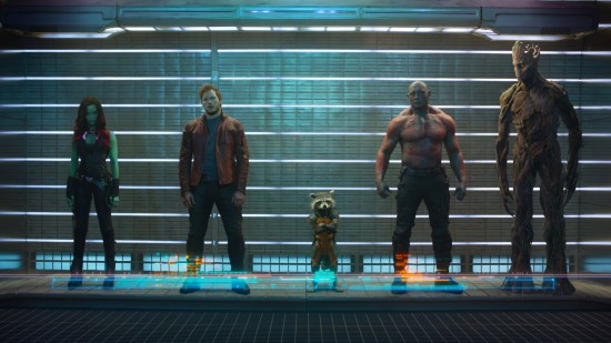 Guardians of the Galaxy3 550x309 Watch Chris Pratt, James Gunn and Kevin Feige Talk Guardians of the Galaxy for 30 Minutes
