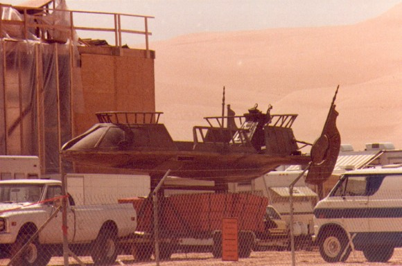 Return of the Jedi Sail Barge Skiff