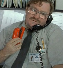 Milton in Office Space