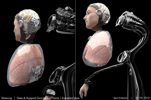 Robocop VFX tests