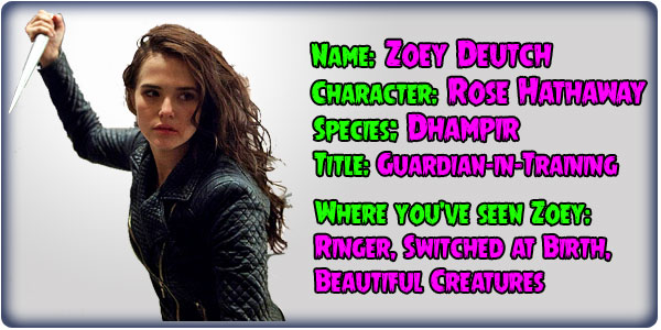 Zoey Deutch Vampire Academy