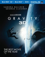 gravity 3d bd New on DVD/Blu ray: Gravity Still Dazzles on the Small Screen, Plus the Sci fi Mr. Nobody Finally Gets Released