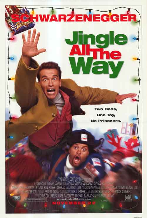 jingle all the way poster Brace Yourself: Jingle All the Way 2 Is Coming, and It Will Star Larry the Cable Guy