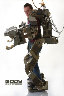 Body Extender power loader exoskeleton suit