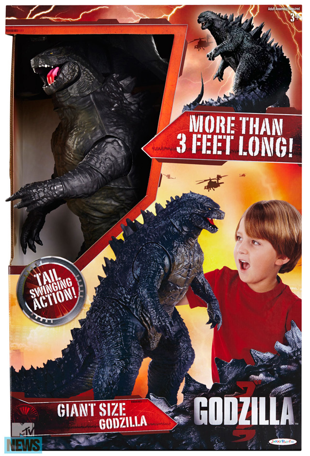 Godzilla action figure