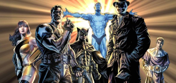 Watchmen team comic book