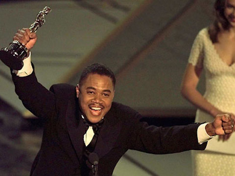 cuba Watch: Youve Never Seen This Version of Cuba Gooding Jr.s Classic Oscar Speech