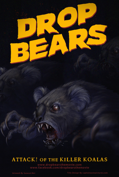 dropbears Today in Bizarre Movie Trailers: Drop Bears: Attack of the Killer Koalas