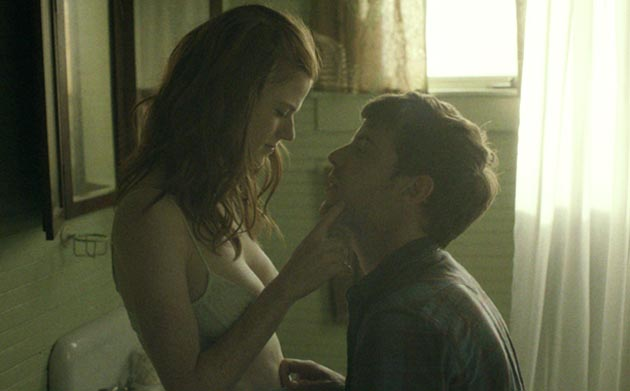 honeymoon still 3 Game of Thrones Rose Leslie Helps Twist the Familiar Into Something Creepy for Honeymoon