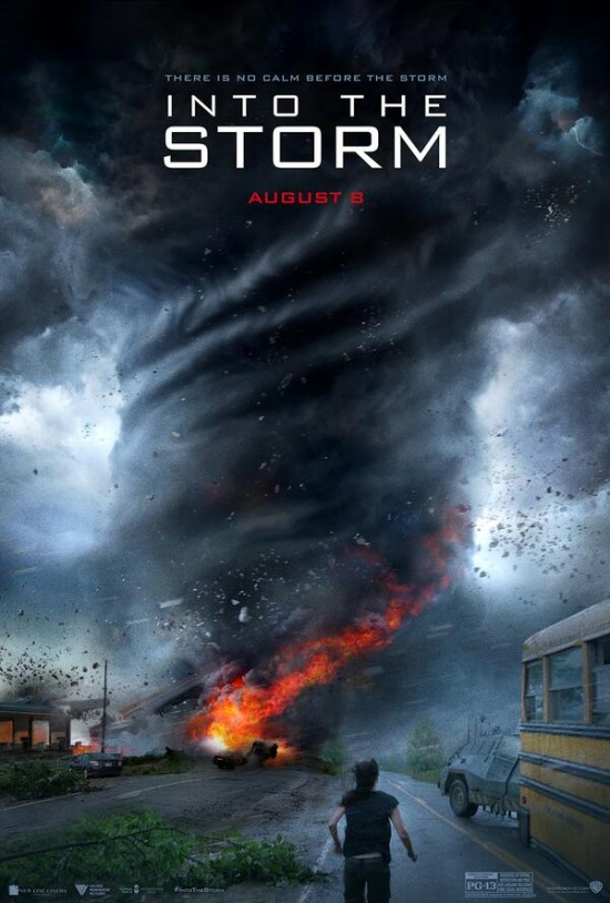 into the storm poster Into the Storm Trailer Really Wants To Be This Generations Twister