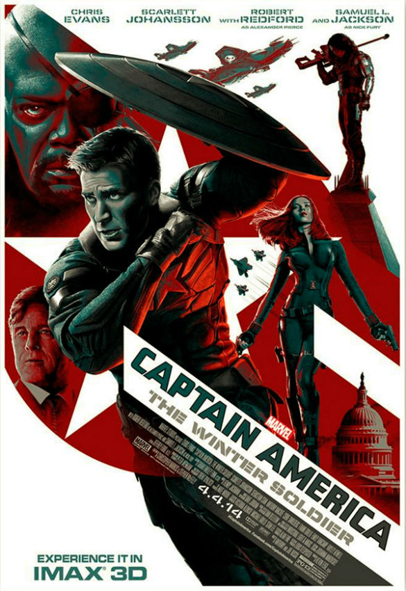 News Bites: Cool 'Captain America' IMAX Poster; 'Lego Movie ...