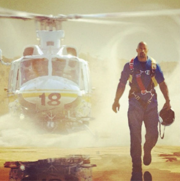 mdc san andreas dwayne johnson Movie News: First Look at Dwayne Johnson in San Andreas; Oscar Winner for Star Wars 7; Almost Home Short with Steve Martin