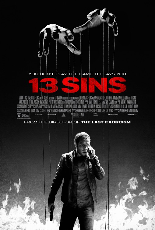 13 Sins movie poster