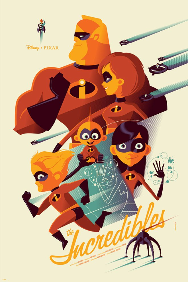 tom whalen the incredibles Disney News: The Incredibles 2 & Cars 3 Moving Forward; Pirates 5 Maybe Not; Star Wars: Episode VII Timeline