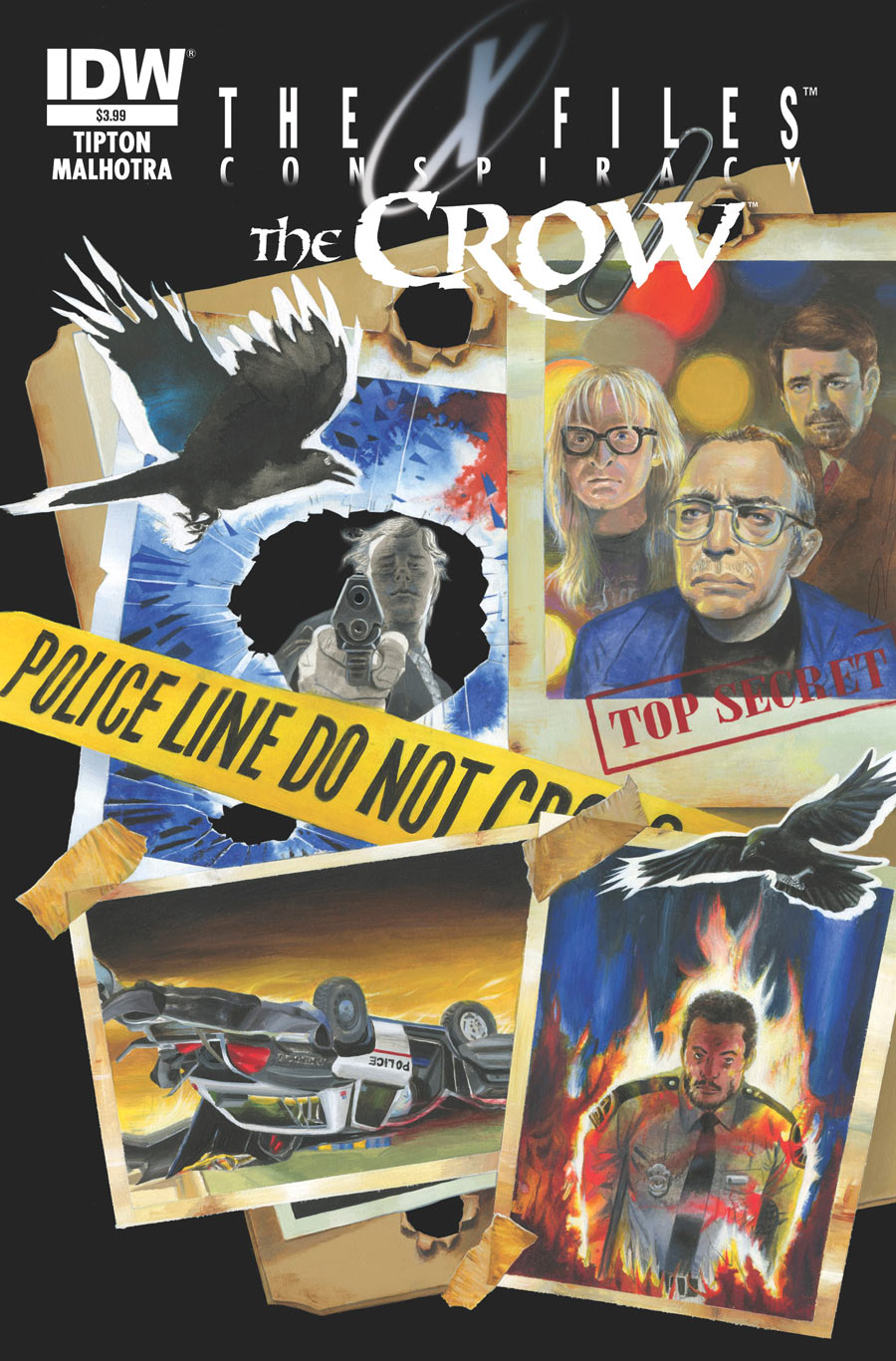 x files%20the%20crow March Geek Guide: Captain America, Ghostbusters, Back to the Future, Star Trek and More