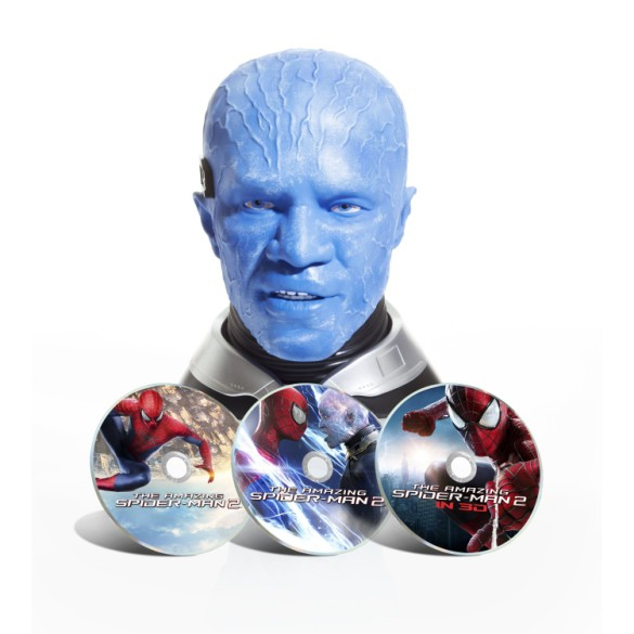 Amazing Spider-Man 2 Electro Blu-Ray bust