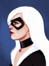 BlackCat f (Custom) Marvel Studios Countdown: We Pick the Mind of Mike Mitchell, the Man Behind Mondos Stunning New Marvel Gallery