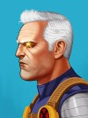 Cable (Custom) Marvel Studios Countdown: We Pick the Mind of Mike Mitchell, the Man Behind Mondos Stunning New Marvel Gallery