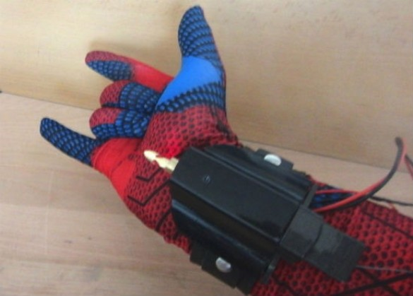 Spider Man web shooters