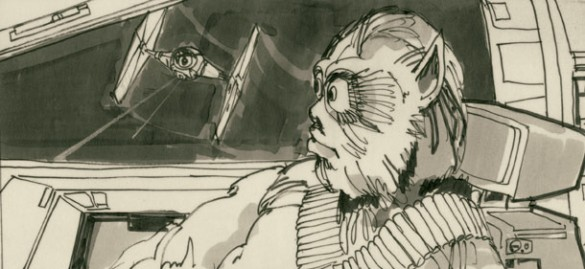 Star Wars Storyboards Reveal Strange Alternate Versions Of Your Favorite Characters Movie News Movies Com