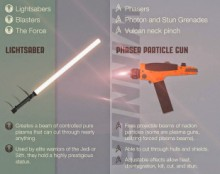 Star Trek vs Star Wars infographic