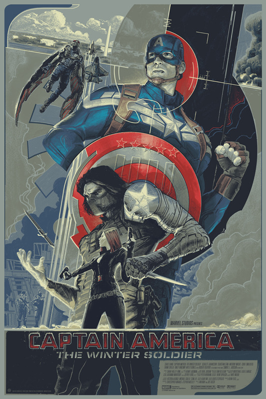 captain america the winter soldier mondo poster Box Office Report: Captain America Shatters April Records; May Dominate 2014 Through June
