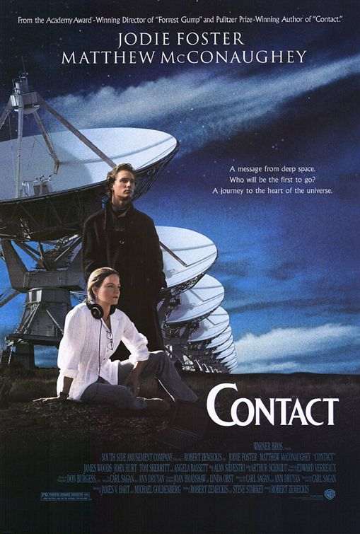 contact ver2 The Last Sci fi Blog: Why Contact Is the Best Science Fiction Movie No One Talks About