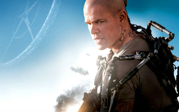 elysium matt damon 585 140410 Movie News: Matt Damon Going to Space As The Martian; Timecop Remake Moves Forward; First Hercules Clip