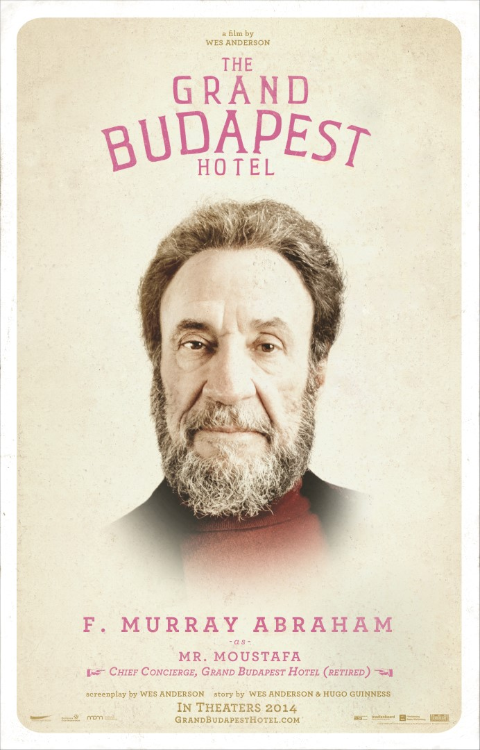 The Grand Budapest Hotel F. Murray Abraham Poster