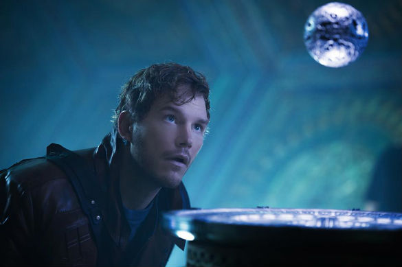 guardians galaxy star lord 140428 585 Movie News: New Guardians of the Galaxy Photos; Gigantic Harrison Ford Role for Star Wars 7; Godzilla Asian Trailer