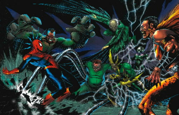 marvel sinister six 585 140408 Movie News: New Star Wars Rebels Images; Sinister Six Villains Teased; Blended TV Spot