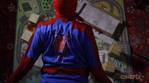spideytrailer Watch: A Homemade Trailer for Amazing Spider Man 2, Plus 7 Superhero Facts You Probably Didnt Know