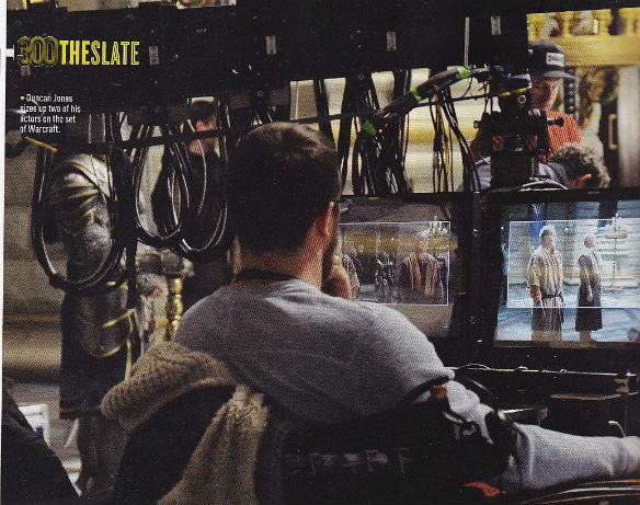 warcraft bts 140425 585 Movie News: First Warcraft Image; Batman vs. Superman Gets Its Cyborg; Clark Greggs Trust Me Trailer
